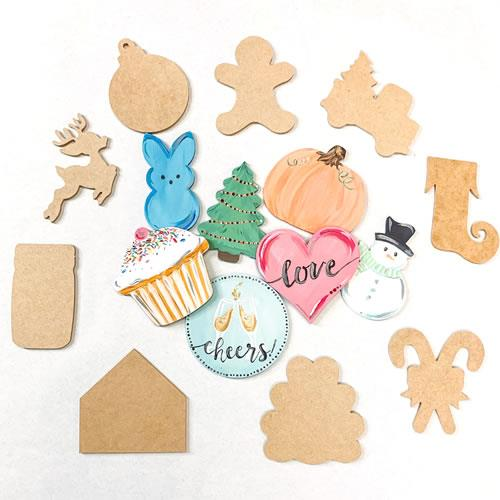 "6"" Cutouts Thanksgiving & Christmas"