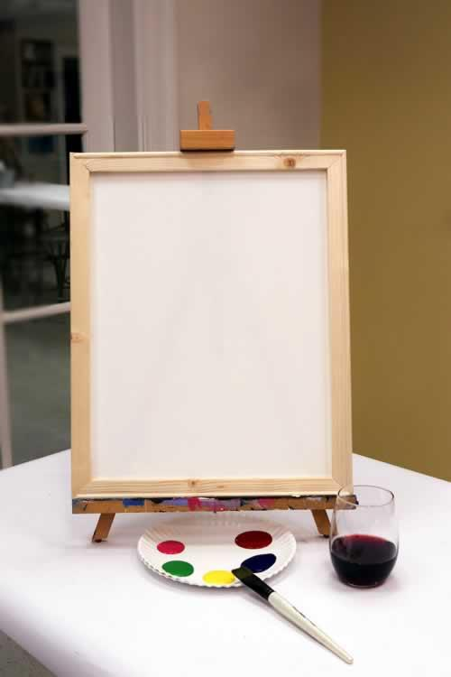 Framed Canvas 16x20 Painting Kit