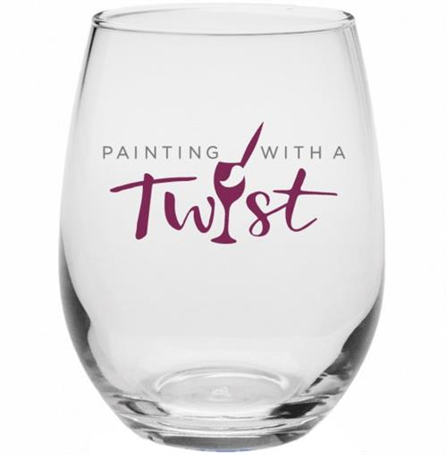 9 oz PWAT Stemless Wine Glass